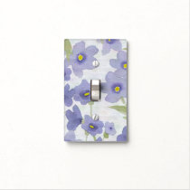 forget-me-not-flowers print light switch cover