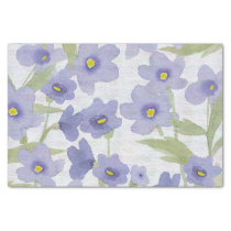 forget-me-not-flowers print tissue paper