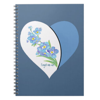 Forget-me-not Flowers Quote Journal