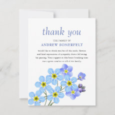 Forget-Me-Not | Funeral Thank You Memorial