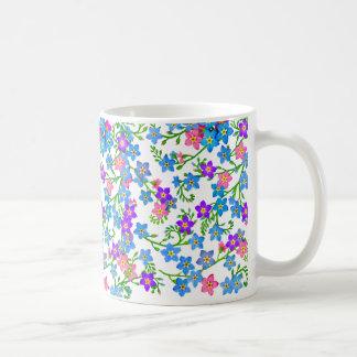 Forget Me Not Garden Flowers Mug