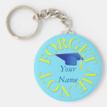 FORGET ME NOT - GRADUATION KEYCHAIN
