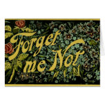 Forget Me Not Greeting Cards