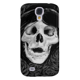 Forget me not in Black & grey Samsung Galaxy S4 Cases
