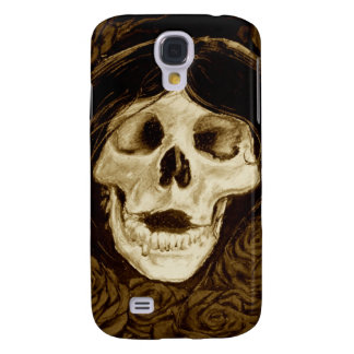Forget me not in sepia samsung galaxy s4 covers