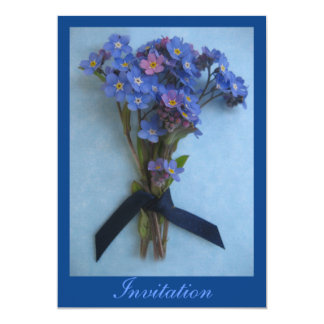 Forget Me Not - Invitation