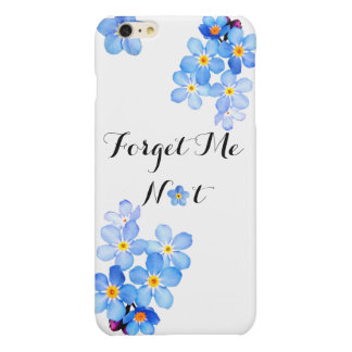 Forget Me Not iPhone 6/6s Plus case (Design 1)