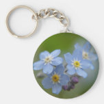 Forget Me Not Keychains