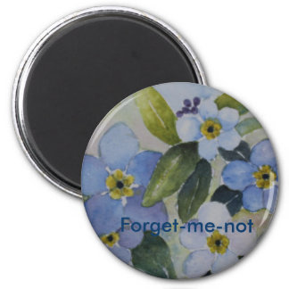Forget-me-not Magnet