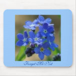 Forget Me Not Mouse Mats
