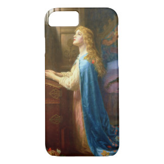 'Forget me Not' (oil on canvas) iPhone 8/7 Case
