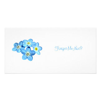 Forget-Me-Not Photo Card