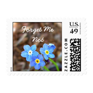 Forget Me Not Postage