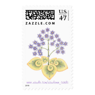 Forget-Me-Not - Postage Stamp