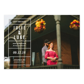Forget-Me-Not Save the Date Card