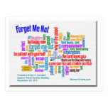 Forget Me Not Talk by President Uchtdorf Post Card