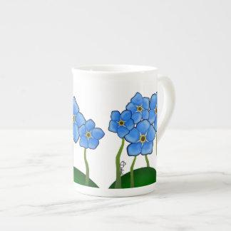 Forget-Me-Not Tea Porcelain Mug