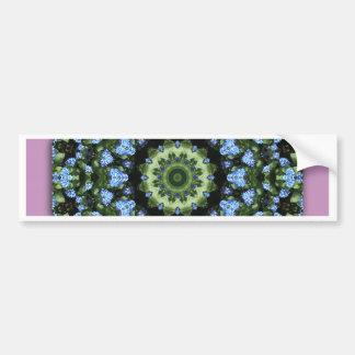 Forget-me-nots 001 01, Forgetmenot, Nature Flower Bumper Sticker