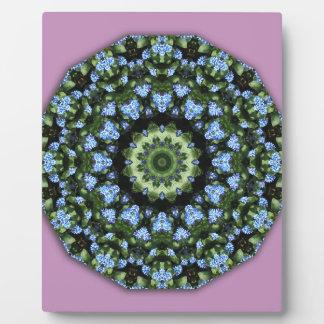 Forget-me-nots 001 01, Forgetmenot, Nature Flower Plaque
