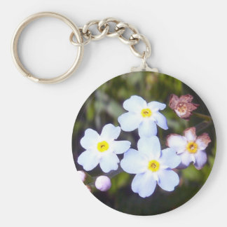 Forget Me Nots 1 Key Chain