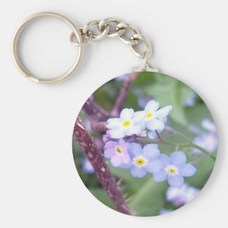 Forget Me Nots 3 Key Chain