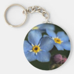 Forget-Me-Nots 3 Keychain