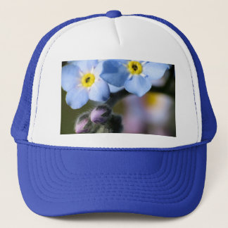 Forget-Me-Nots 6 Ball Cap