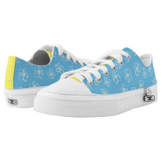 Forget-Me-Nots Blue Floral Print Shoes