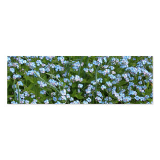 Forget Me Nots Bookmark Business Card