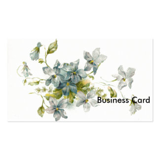 Forget Me Nots Double-Sided Standard Business Cards (Pack Of 100)