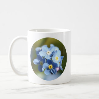 Forget Me Not's Cluster Coffee Mug