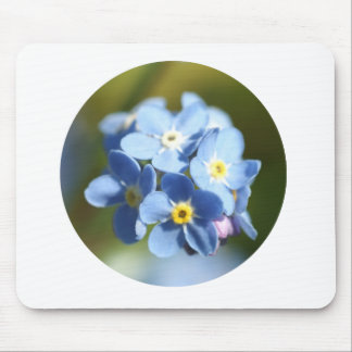 Forget Me Not's Cluster Mouse Pad