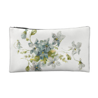 Forget Me Nots Cosmetic Bags
