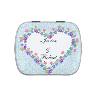 Forget Me Nots Customizable Candy Tin