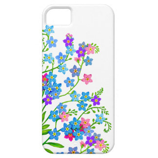Forget Me Nots Floral Garden iPhone Case