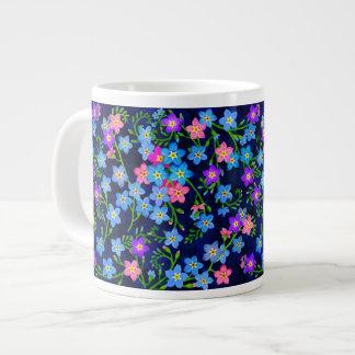 Forget Me Nots Garden Flowers Jumbo Mug