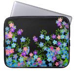Forget Me Nots Garden Flowers Laptop Bag Laptop Sleeves