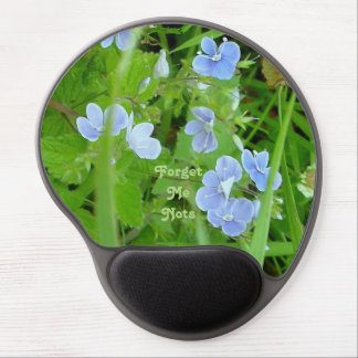 Forget Me Nots Gel Mouse Pad