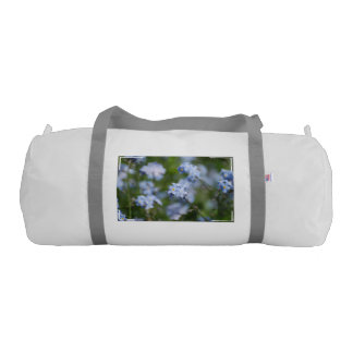 Forget Me Nots Gym Duffle Bag