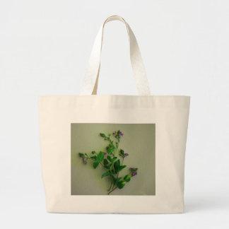 forget me nots jumbo tote bag
