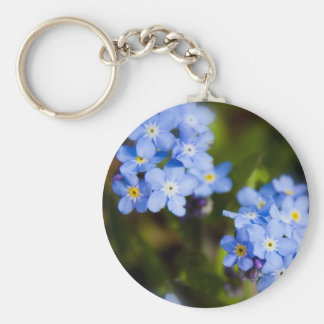 Forget Me Nots Keychain