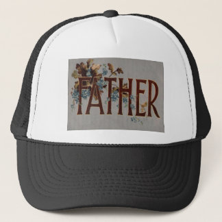 Forget Me Nots Leaf Vintage Father's Day Trucker Hat