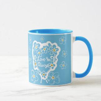Forget-Me-Nots Love You Always Mug