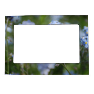 Forget Me Nots Magnetic Photo Frame