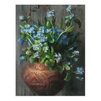Forget-Me-Nots - Marie Nyl-Frosch Postcard