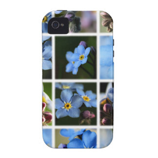 Forget-Me-Nots Montage 1 iPhone 4/4S Case