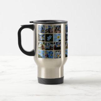 Forget-Me-Nots Montage 1 Travel Mug