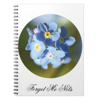 Forget Me Nots Note Books