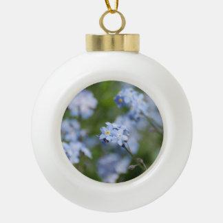 Forget Me Nots Ornament