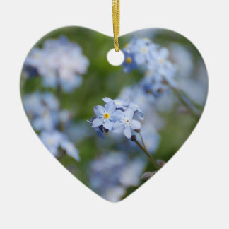 Forget Me Nots Christmas Ornament